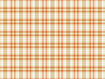 Orange and white plaid background Royalty Free Stock Photography