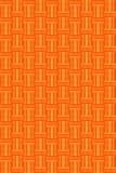 Orange wicker background Royalty Free Stock Photo
