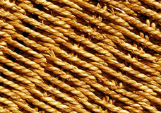 Orange Wicker basket braided texture. Abstract background and texture for design and ideas royalty free stock image