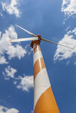Orange Windmill Royalty Free Stock Images