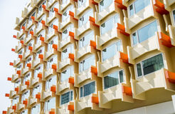 The Orange Window Condo pattern2 Stock Photos