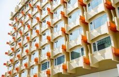 The Orange Window Condo pattern2. The Orange Window Condo pattern Stock Photos