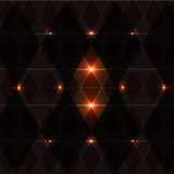 Orange wink vintage pattern background Royalty Free Stock Photography