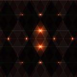 Orange Winkweinlese-Musterhintergrund Lizenzfreie Stockfotografie