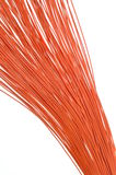 Orange wires Royalty Free Stock Photography