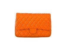 Orange women bag Royalty Free Stock Image