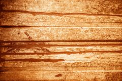Orange Wood Background Royalty Free Stock Images