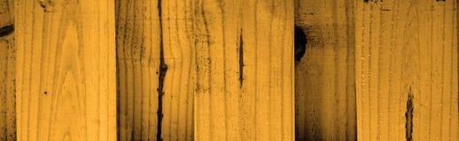 Orange wood banner background Stock Photo