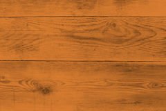 Orange wood structure as a background texture Royalty Free Stock Photos