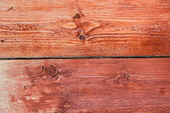 Orange wooden background Stock Photography