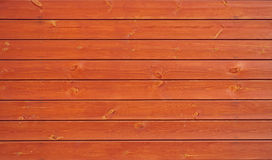 Orange wooden boards background Stock Photography