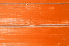 Orange Wooden Slats Background With Copy Space Stock Images