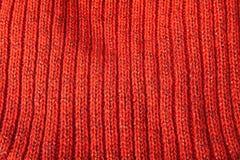 Orange wool. Royalty Free Stock Images