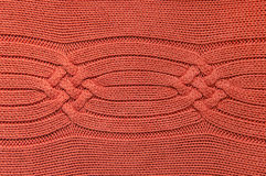 Orange Wool Sweater Royalty Free Stock Images