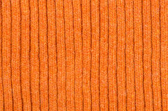 Orange woolen cloth Stock Photography