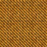 Orange woven intertwined background Royalty Free Stock Images