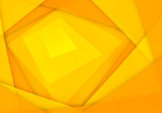 Orange and yellow abstract paper background Stock Photography