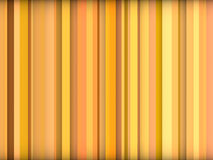 Orange yellow backdrop in vertical stripes Stock Images