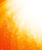 Orange yellow background with star Royalty Free Stock Photos