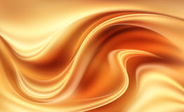 Orange - yellow dynamic abstract modern background Stock Photos