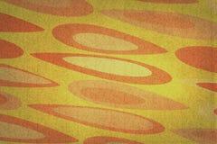 Orange and Yellow Eyes Texture on Orange Stock Photos