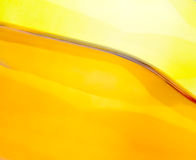 Orange and Yellow Glass Bottles Royalty Free Stock Photos