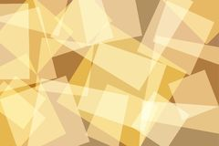 Orange Yellow Gold Square Abstract Background Stock Image