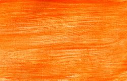 Orange Yellow Gouache Stock Photo