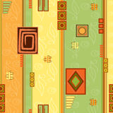 The orange-yellow-green pattern Royalty Free Stock Images