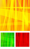 Orange Yellow Green and Red Abstract Background Royalty Free Stock Image