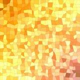 Orange and yellow rectangle mosaic background. Orange and yellow irregular rectangle mosaic vector background Stock Photography