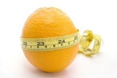 Orange with yellow meter Stock Photo