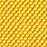 Orange and yellow seamless honeycombs texture Royalty Free Stock Photography