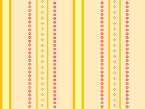 Orange yellow stripes background Stock Images