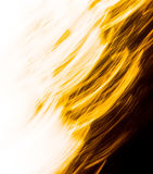 Orange Yellow Texture #630. An abstract image created by using a slow shutter speed while moving and/or adjusting the focal length of the lens.  Colors added and Royalty Free Stock Image