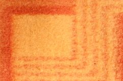 Orange and yellow wool blanket. Background Stock Images