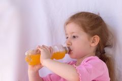 Orange is so yummy! Stock Images