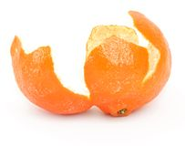 Orange zest Royalty Free Stock Photography