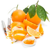 Orange and zest Royalty Free Stock Photography