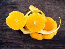 Orange zest Royalty Free Stock Photos