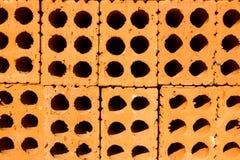 Ziegelstein mit Loch Lizenzfreies Stockbild