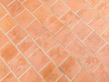 Orange Ziegelsteinstraßenbetoniermaschinenmuster Lizenzfreie Stockbilder
