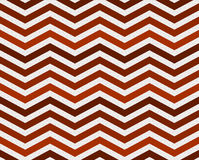Orange Zigzag Textured Fabric Background Stock Photography