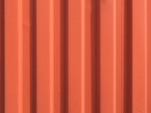 Orange Zinc surface. Close-up of Orange Zinc surface stock photo