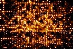 Orangeabstrakt begrepp Royaltyfria Foton