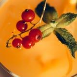Orangeade décorée photo libre de droits