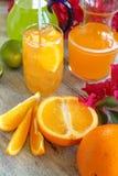 Orangeade d'été photo libre de droits