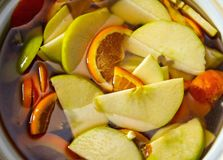 Orangeade d'Apple photo libre de droits