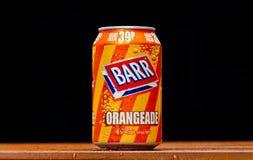 Orangeade de Barr photos stock