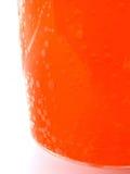 Orangeade - glas royalty-vrije stock afbeelding